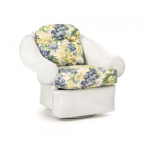 Lloyd Flanders Casa Grande Wicker Swivel Rocker - Replacement Cushion