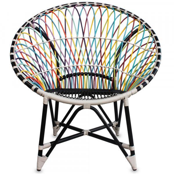 Harmonia Living Mandala Wicker Lounge Chair - Trance