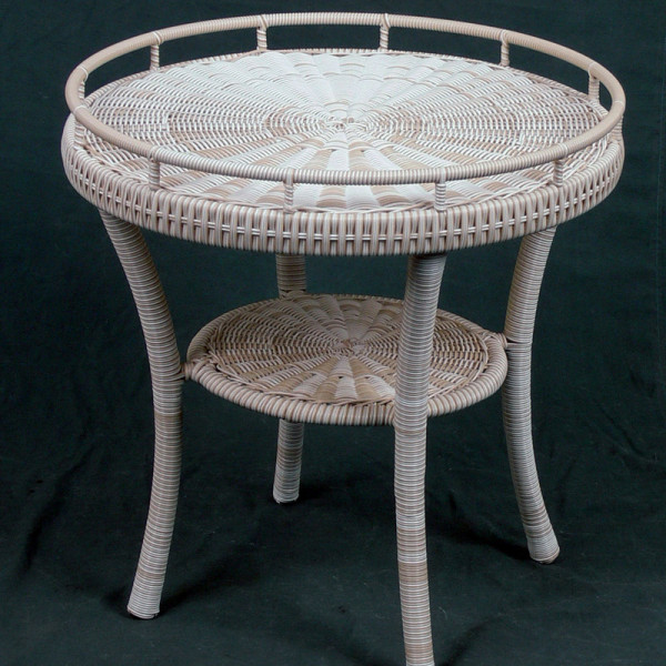 South Sea Rattan Napa Wicker End Table