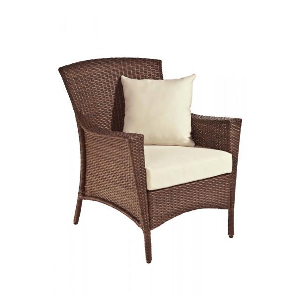Panama Jack Key Biscayne Wicker Lounge Chair