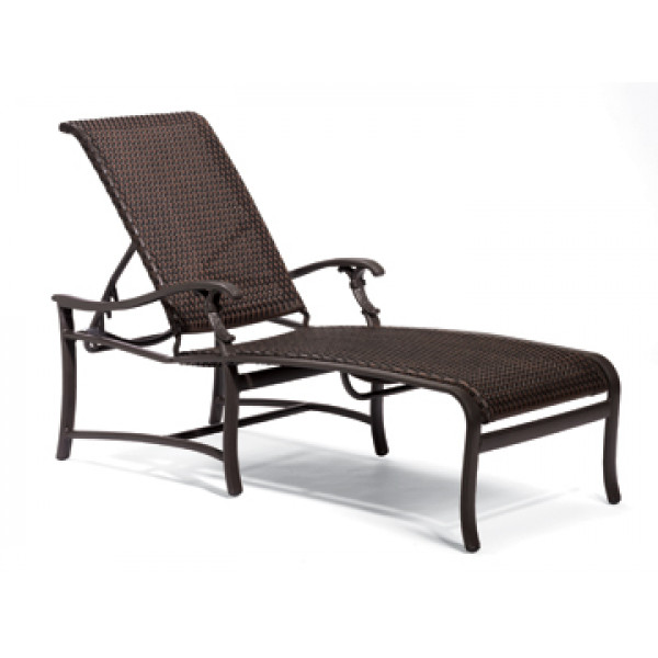 Tropitone Ravello Wicker Chaise Lounge