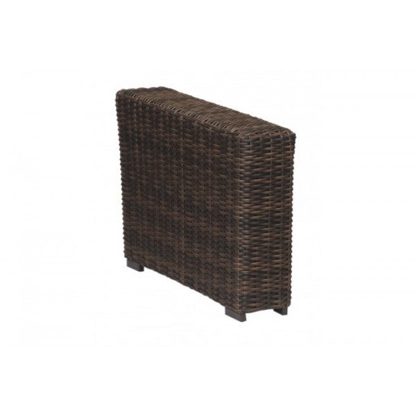 sunset west montecito wicker wedge table