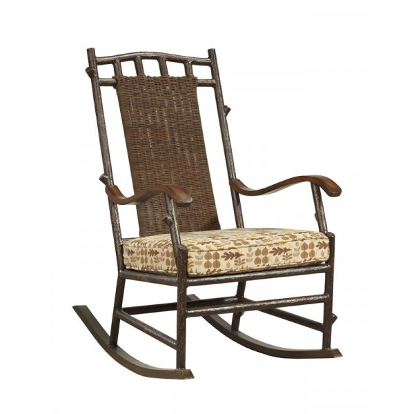 WhiteCraft by Woodard Chatham Run Small Wicker Rocking Chair - Replacement Cushion