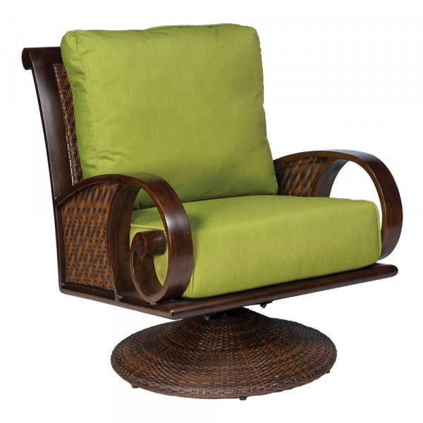 Swivel Rocking Dining Arm Chair Cushion