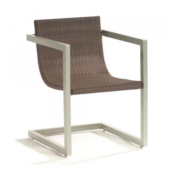 WhiteCraft by Woodard Sheridan Wicker Dining Chair