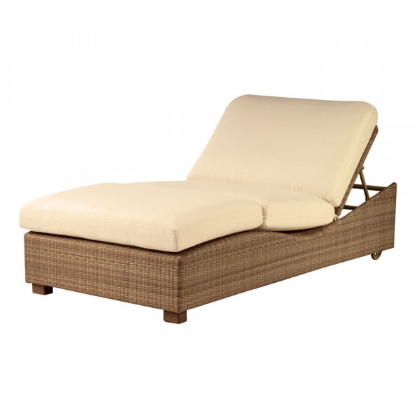 Whitecraft by Woodard Montecito Wicker Double Chaise Lounge - Replacement Cushion
