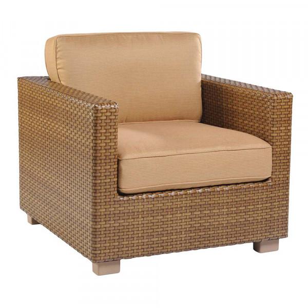 WhiteCraft by Woodard Sedona Wicker Lounge Chair