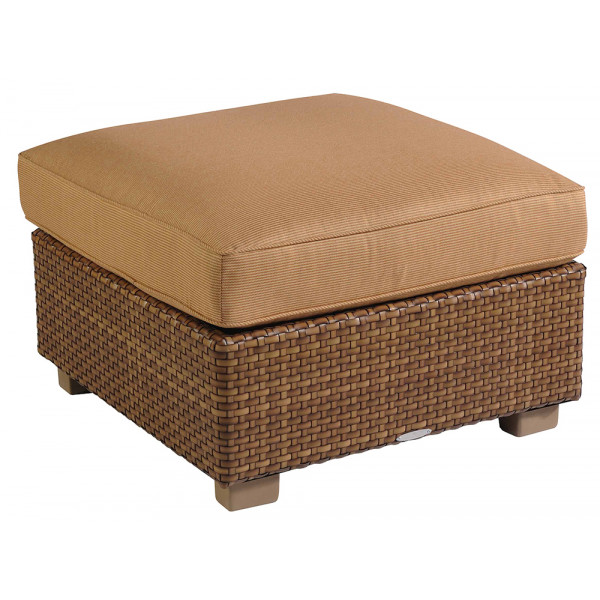 WhiteCraft by Woodard Sedona Wicker Ottoman - Replacement Cushion