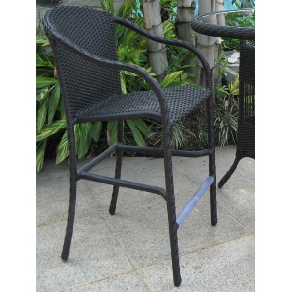 Longboat Key Summit Wicker Bar Chair