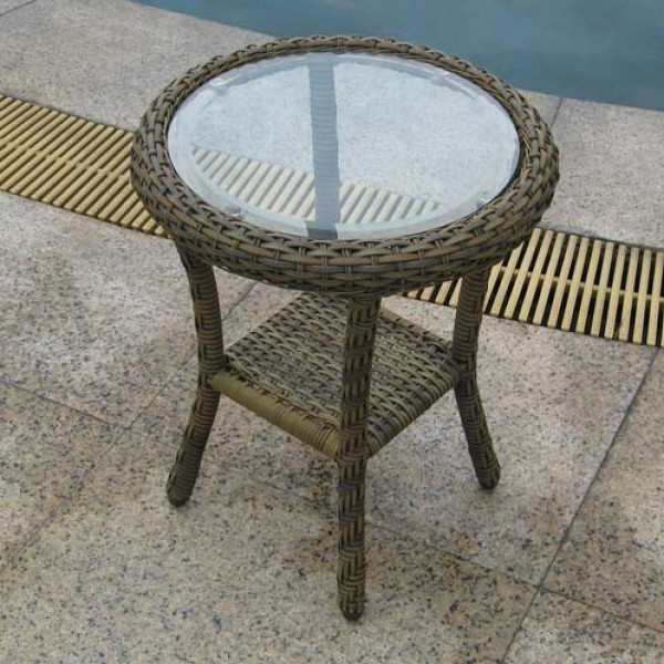 Longboat Key Summit Wicker End Table