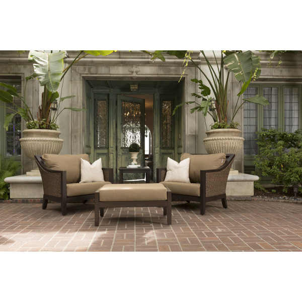 Sunvilla Biscay 4 Piece Wicker Chat Set Wicker Chat Sets