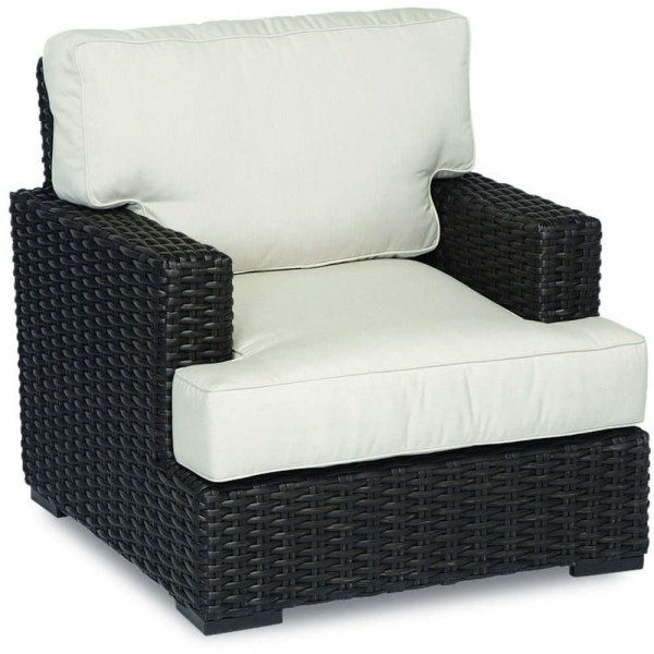 Sunset West Cardiff Wicker Lounge Chair - Replacement Cushion