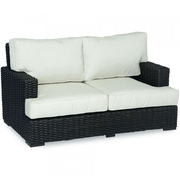 Sunset West Cardiff Wicker Loveseat
