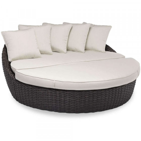 Sunset West Cardiff 2 Piece Wicker Daybed