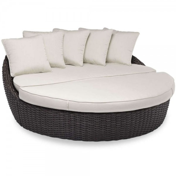 Sunset West Cardiff 2 Piece Wicker Daybed - Replacement Cushion