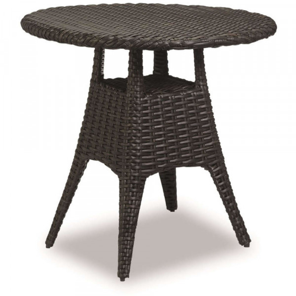 """Sunset West Cardiff 36"""" Round Wicker Pub Table"""