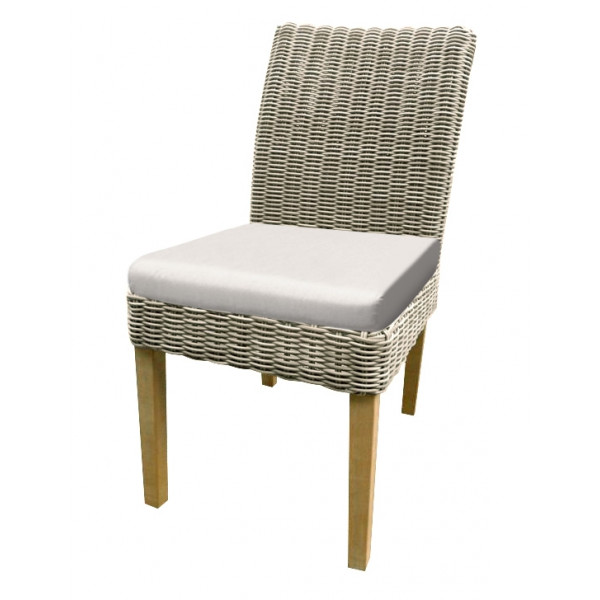 forever patio carlisle armless wicker dining chair replacement rh wicker com Swivel Rattan Chair Cushions Wicker Seat Replacements