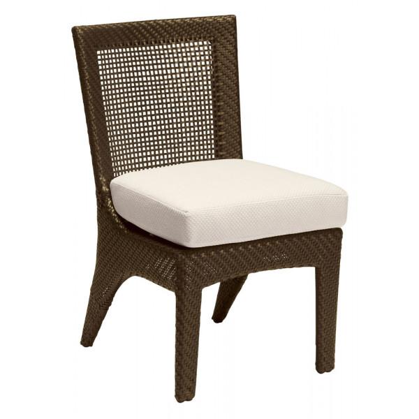 WhiteCraft By Woodard Trinidad Wicker Dining Chair