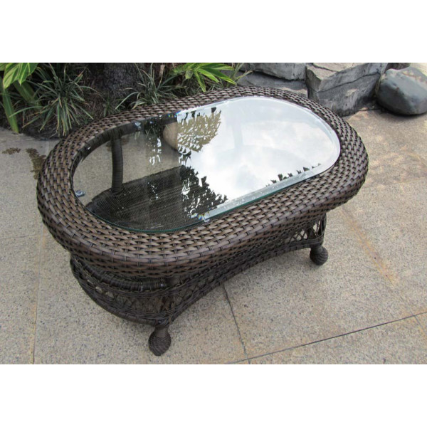 Longboat Key Incline Wicker Coffee Table