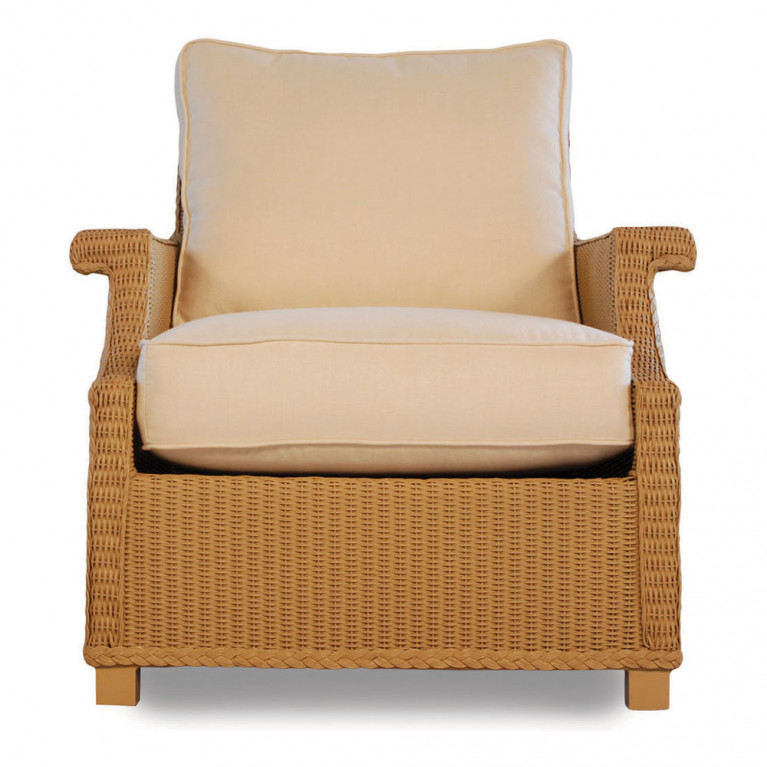 Swell Lloyd Flanders Hamptons Deep Seating Wicker Lounge Chair Pdpeps Interior Chair Design Pdpepsorg