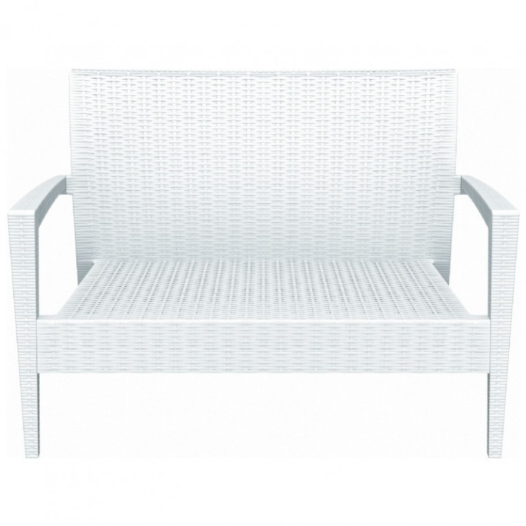 Brilliant Compamia Miami Wicker Loveseat Wicker Loveseats Wicker Ocoug Best Dining Table And Chair Ideas Images Ocougorg