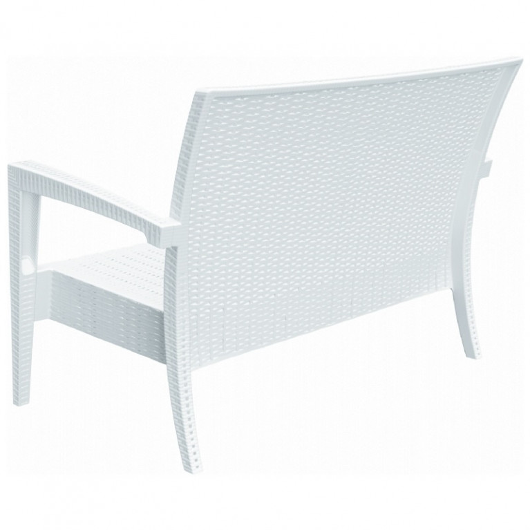 Awesome Compamia Miami Wicker Loveseat Wicker Loveseats Wicker Ocoug Best Dining Table And Chair Ideas Images Ocougorg