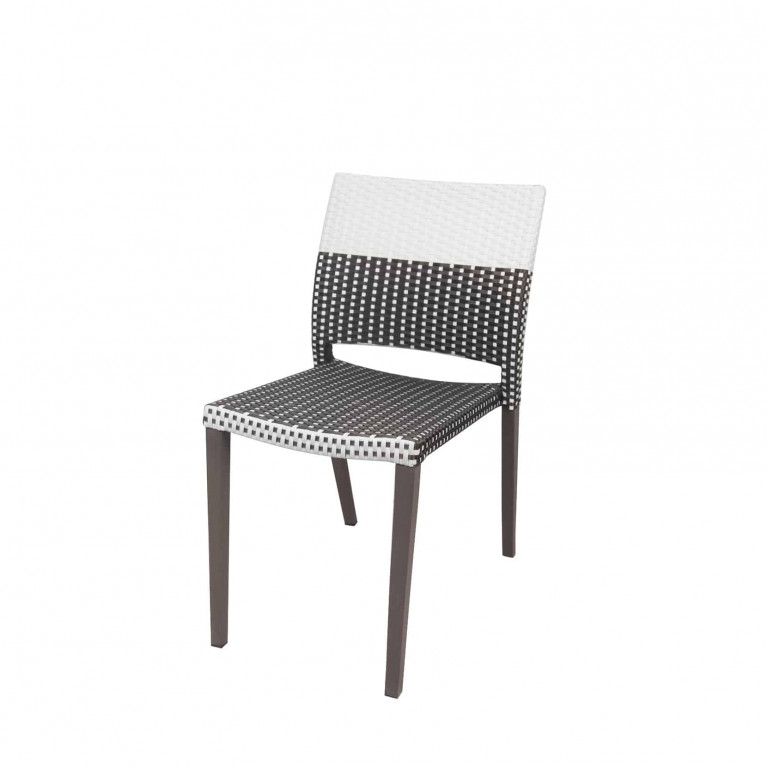 Awesome Source Outdoor Chloe Armless Wicker Dining Chair Caraccident5 Cool Chair Designs And Ideas Caraccident5Info