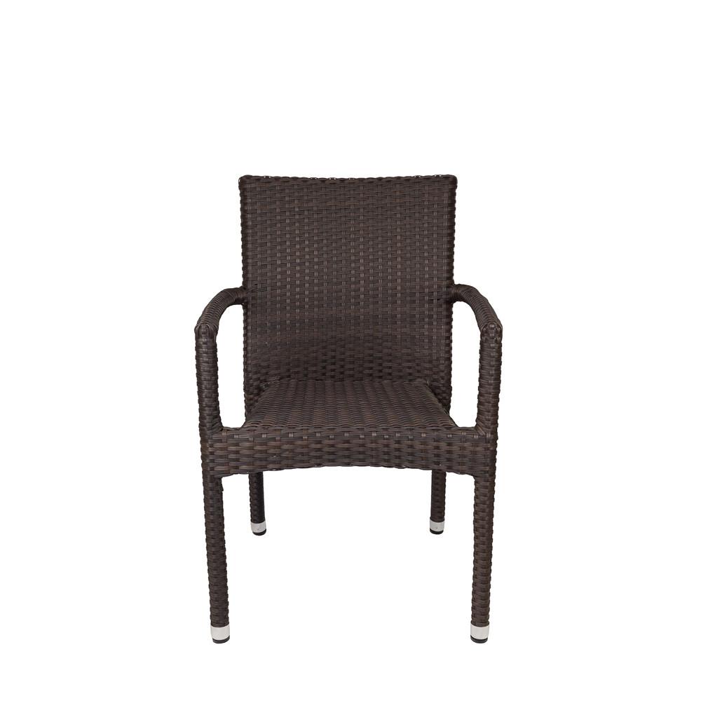 Source Outdoor Sierra Wicker Dining Chair Wicker Dining