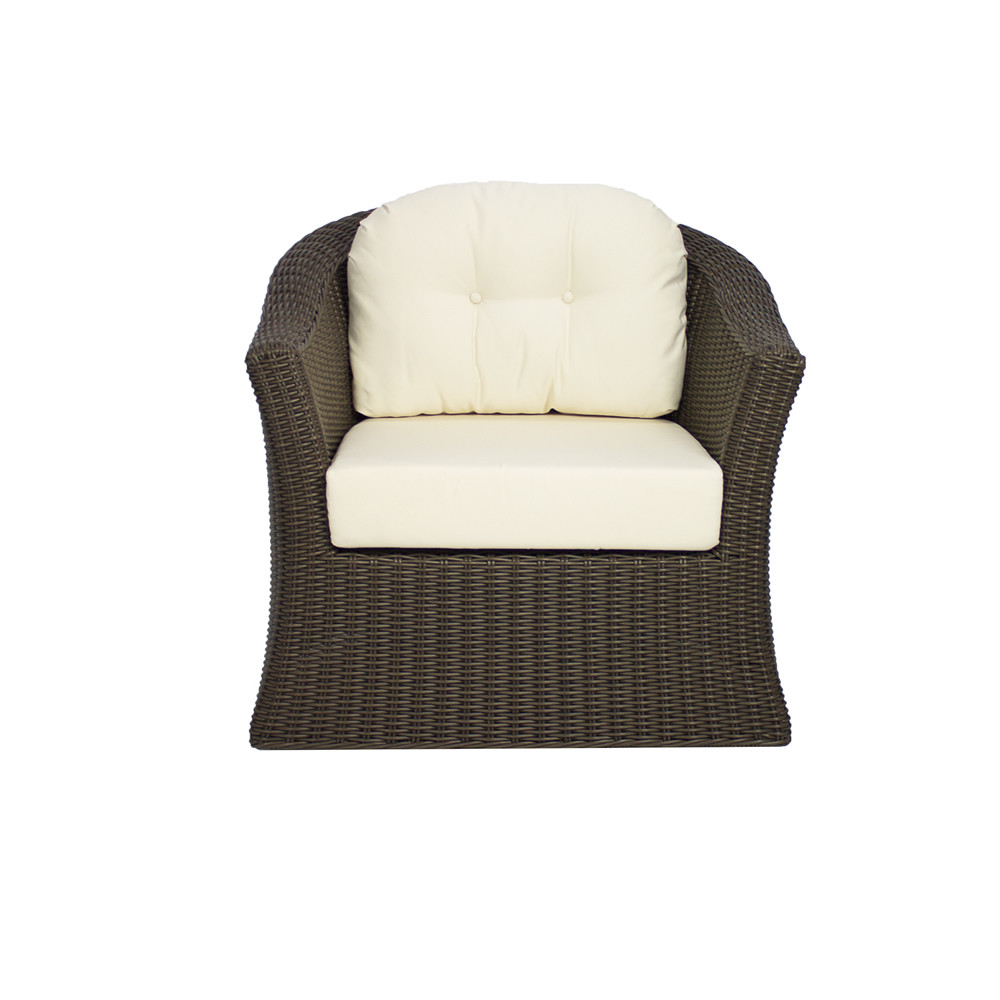 Source Outdoor Wellington Wicker Swivel Chair