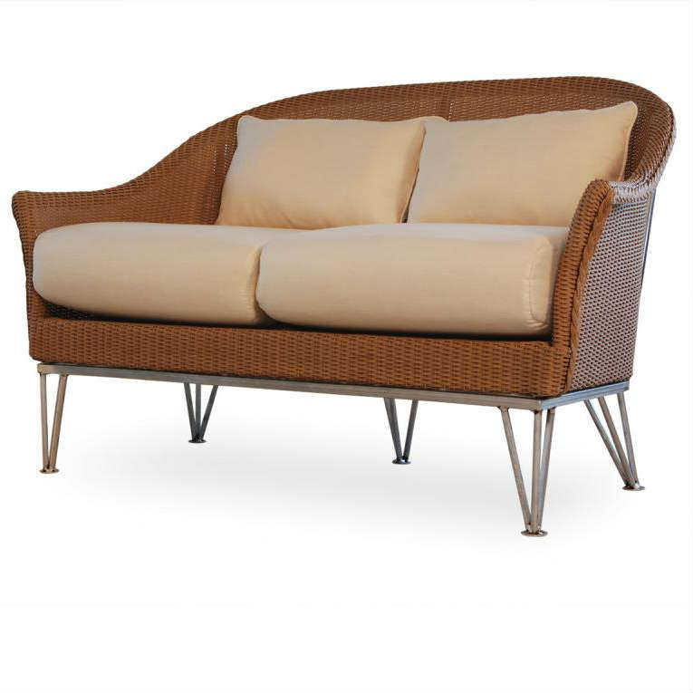 Lloyd Flanders Mod Love Seat Replacement Cushion