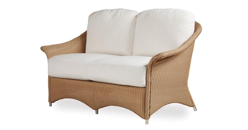 Lloyd Flanders Generations Wicker Loveseat Replacement Cushion Lloyd Flanders Generations