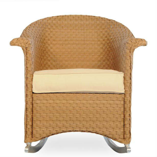 Lloyd Flanders Savannah Wicker Dining Chair   Replacement Cushion