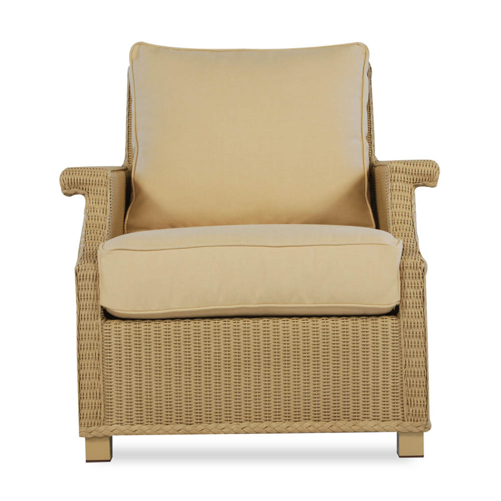 Lloyd flanders hamptons wicker lounge chair replacement - Replacement cushions for wicker patio furniture ...