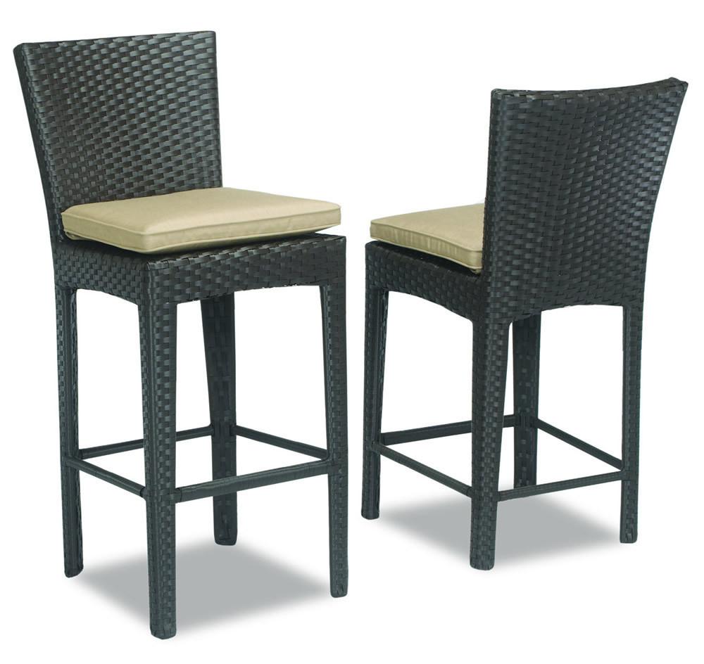 Sunset West Solana Wicker Counter Chair Wicker Bar