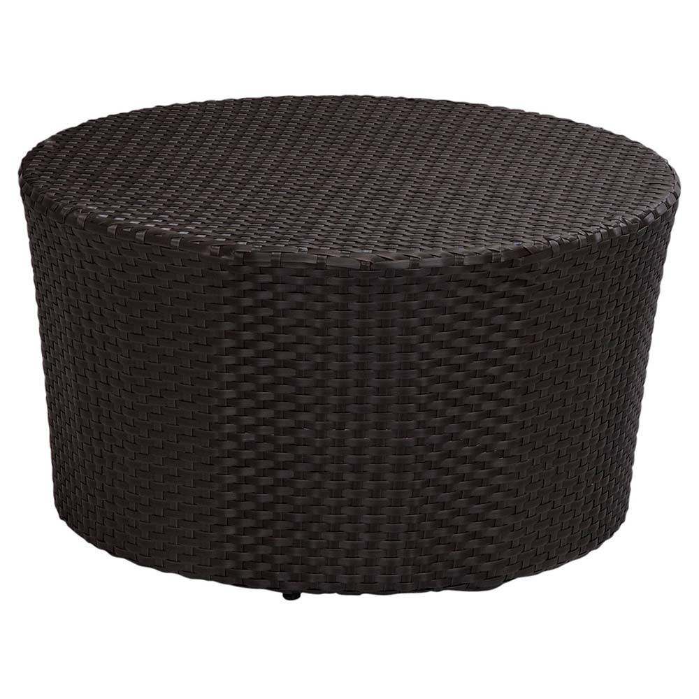 sunset west solana 32 round coffee table wicker coffee