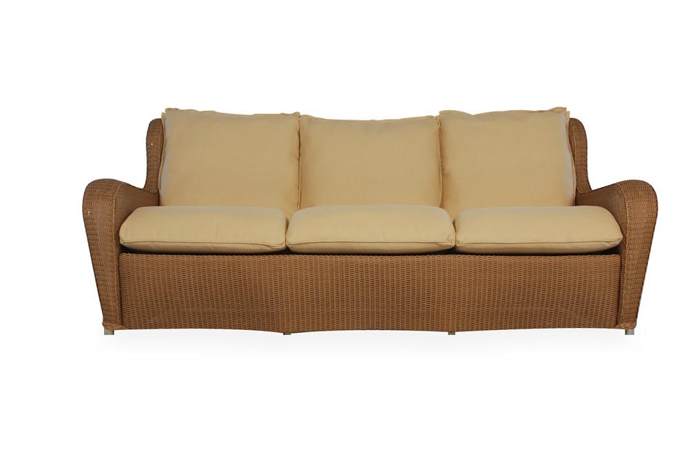 Lloyd Flanders Natchez Sofa Replacement Cushion Wicker Com