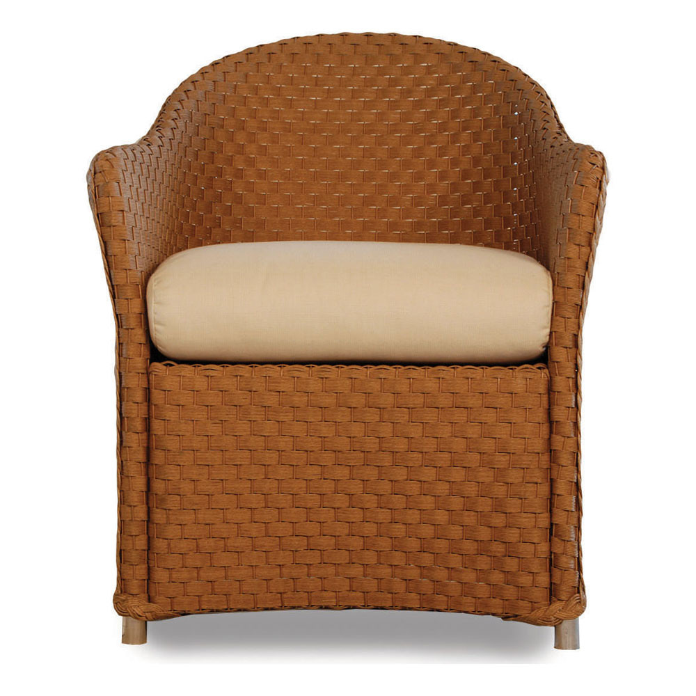 Lloyd Flanders Weekend Retreat Wicker Dining Chair Replacement Cushion