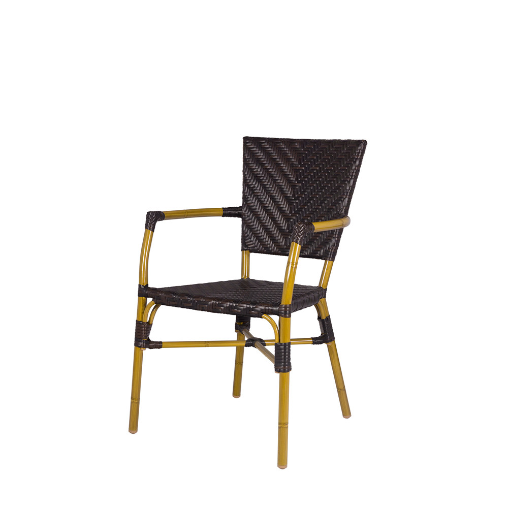 Source Outdoor Capri Wicker Dining Chair Wicker Dining
