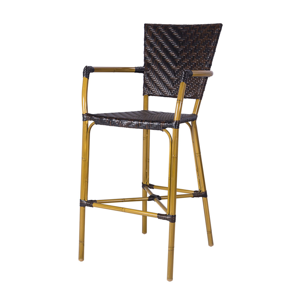 Source Outdoor Capri Wicker Bar Chair Wicker Bar Stools