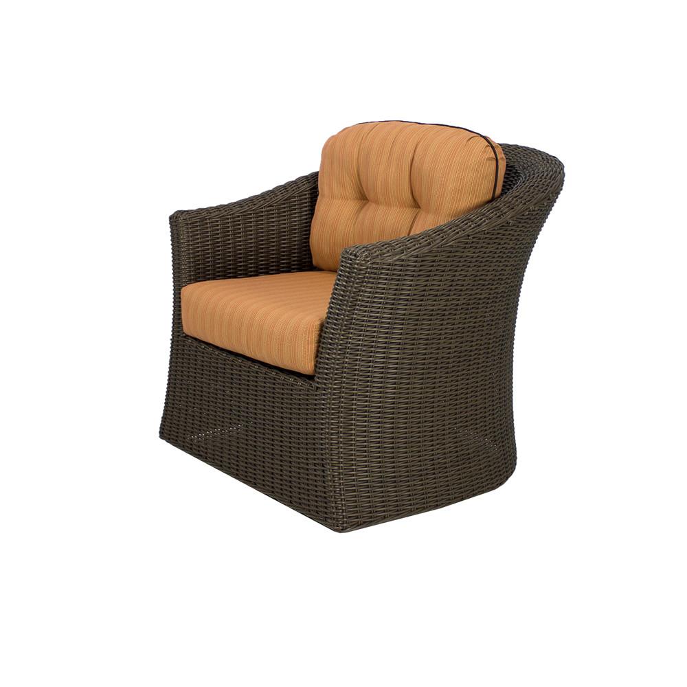 Source outdoor wellington wicker swivel chair wicker for Swivel chairs
