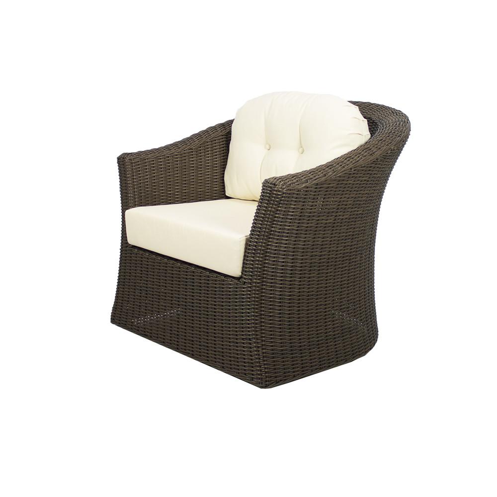 Source Outdoor Wellington Wicker Swivel Chair Wicker