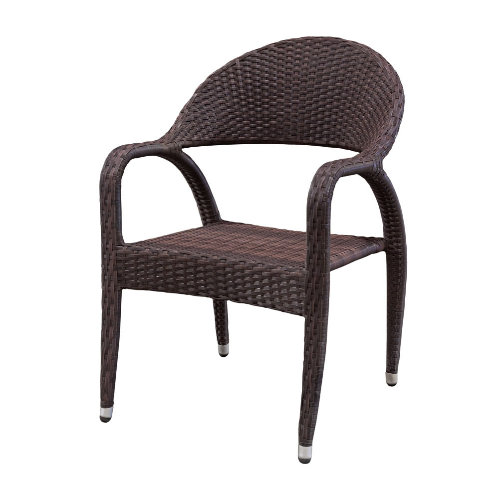 Source Outdoor Venetian Wicker Dining Chair Wicker