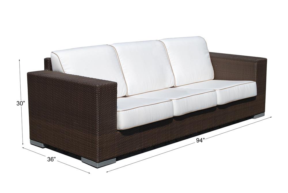 Hospitality Rattan Cava Wicker Sofa Wicker Sofas Wicker Seating