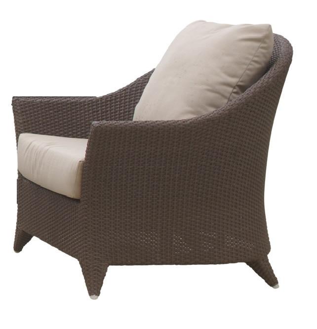 Hospitality Rattan Kenya Wicker Lounge Chair