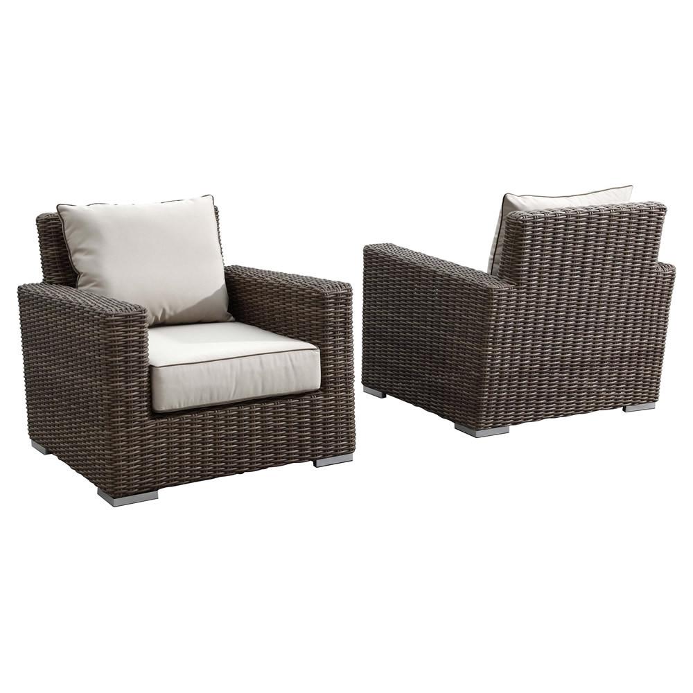 Sunset West Coronado Wicker Lounge Chair 2