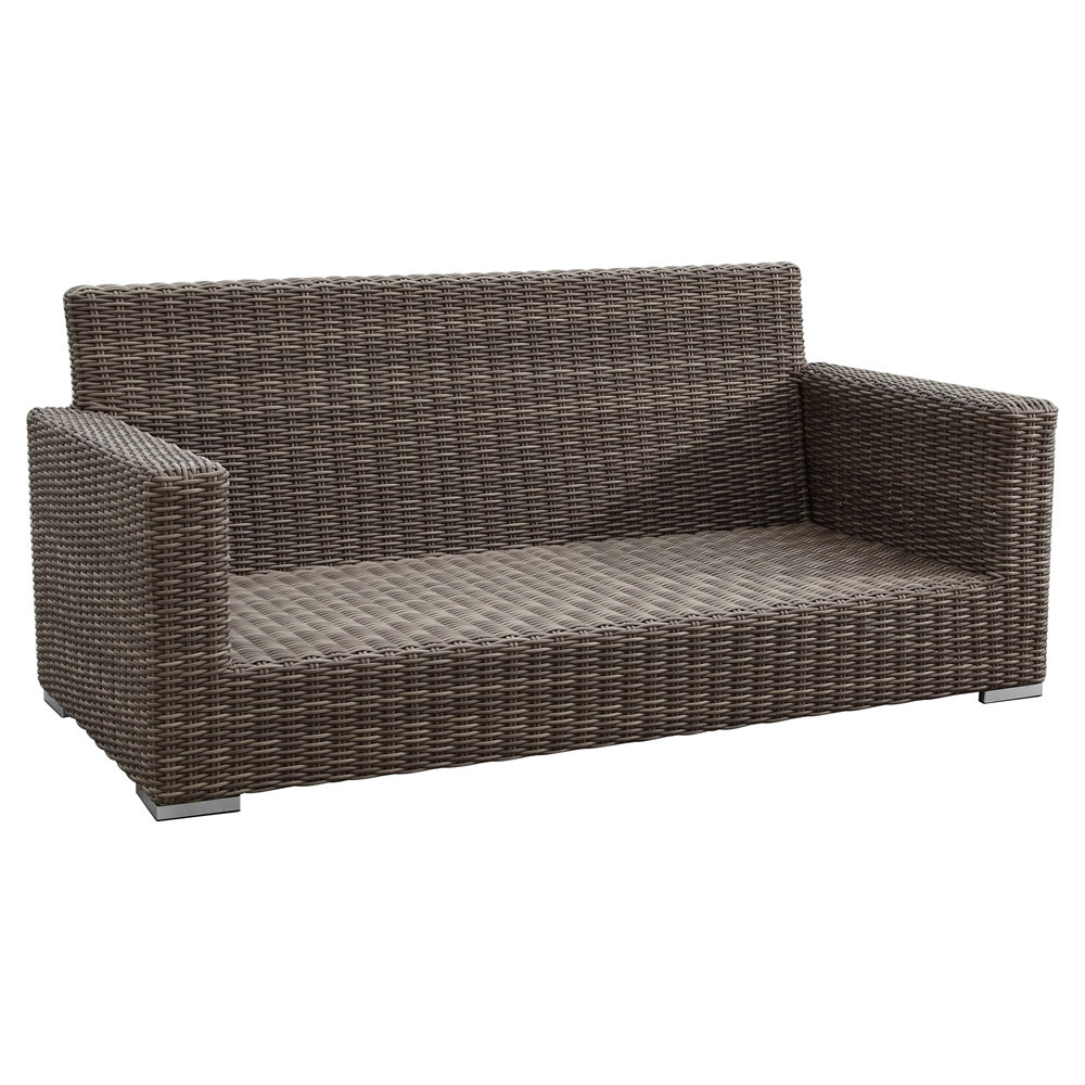 Sunset west coronado wicker loveseat Rattan loveseat