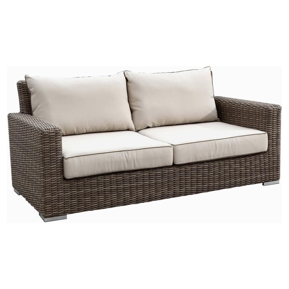 Sunset West Coronado Wicker Loveseat Wicker Sofas Loveseats Wicker Seating
