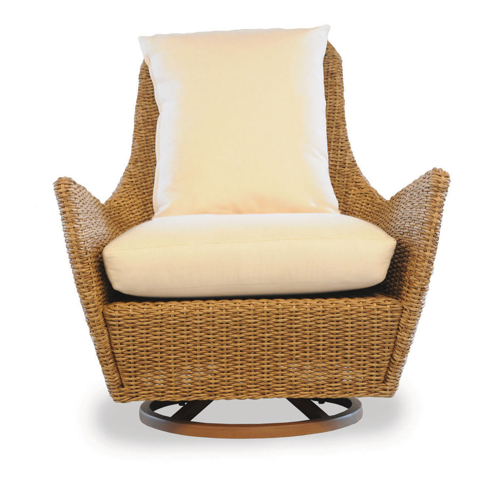 Genial Lloyd Flanders Tobago Highback Wicker Swivel Chair