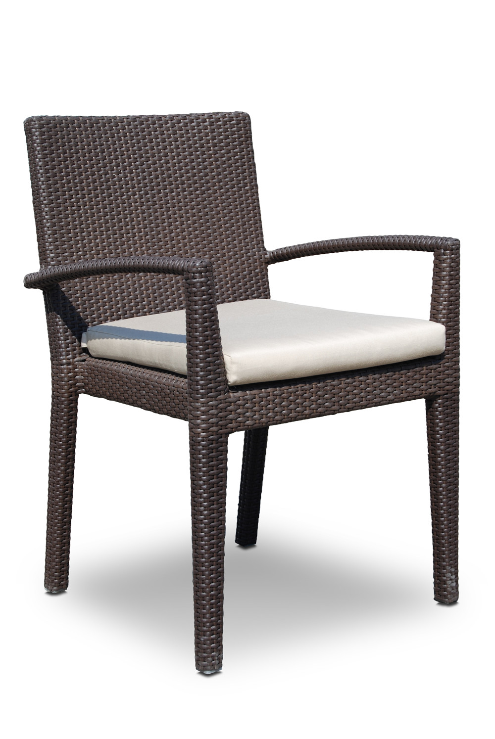 Hospitality Rattan Cava Wicker Dining Chair Wicker