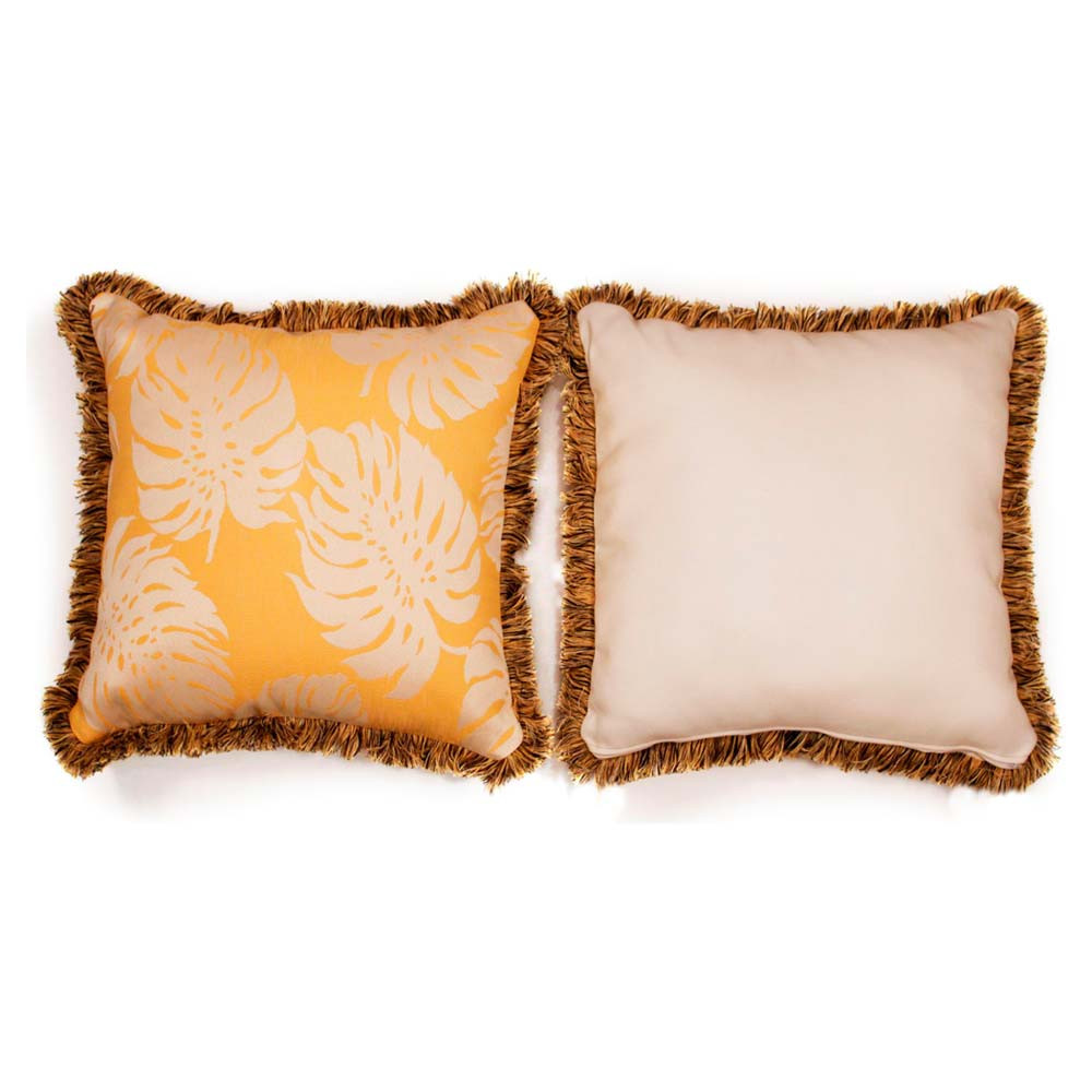 South Sea Rattan All Weather Sunshine Large Throw Pillow - South Sea Rattan Throw Pillows ...